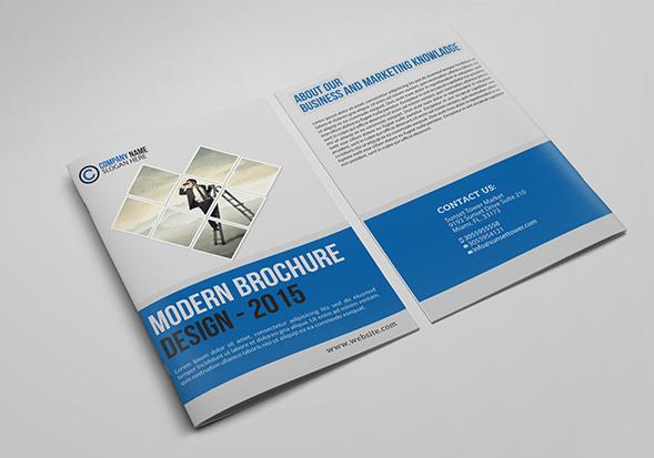 50 Free Brochure Templates for Offline Marketing SaveDelete - modern brochure design