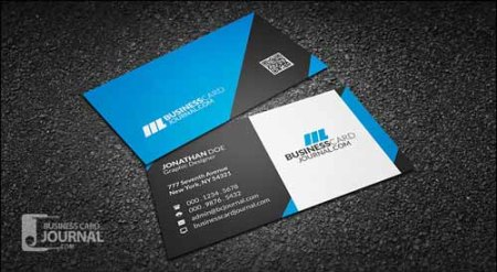 Modern & Professional Free Business Card Template
