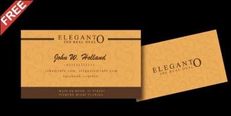 Super Elegant Free Business Card Template 450x226 75 Best Free Business Card Templates Worth Downloading