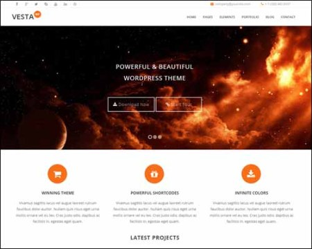 VestaLite Free Business WordPress Theme