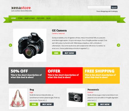 Xenastore 450x390 75 Best Free Wordpress Themes of 2014 Till July