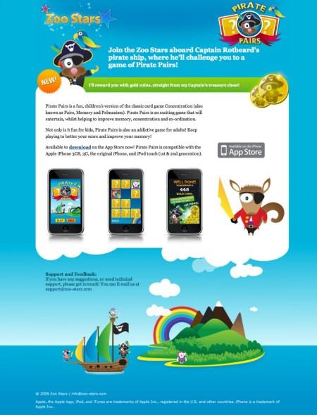 Zoo Stars Website