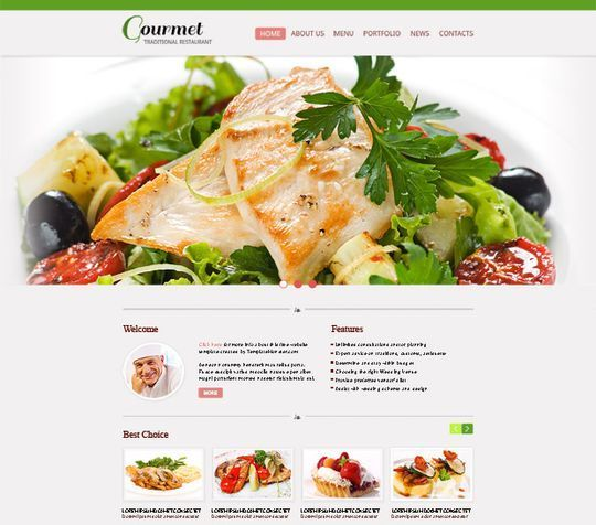 css3webtemplates1 50+ Best Free HTML5 Templates (Responsive) Download