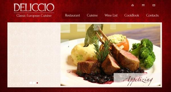 zDeliccio – Free Responsive Html5 Theme 600x323 50+ Best Free HTML5 Templates (Responsive) Download