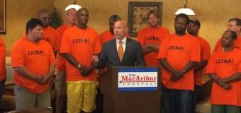 LIUNA Endorses MacArthur; DCCC Dumpster Dives