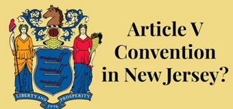 NJ Dems Push for an Article V Convention