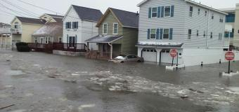 Blizzard whacks Jersey Shore with massive flooding