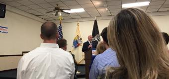 MacArthur outlines priorities in reelection campaign launch