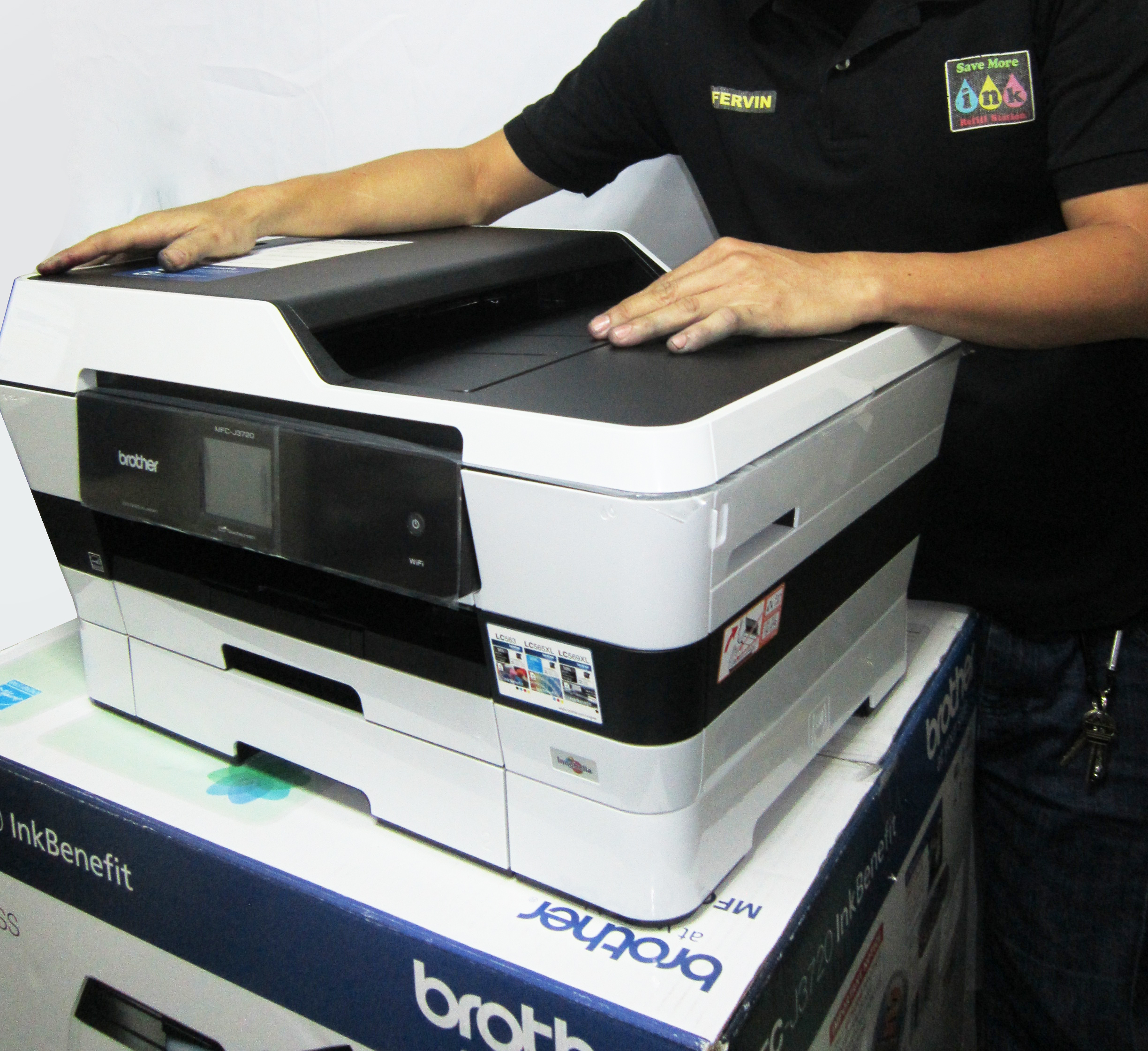 A3 Photo Printing Brother Mfc J3720 A3 Print Scan Copy Fax Wireless Brand New