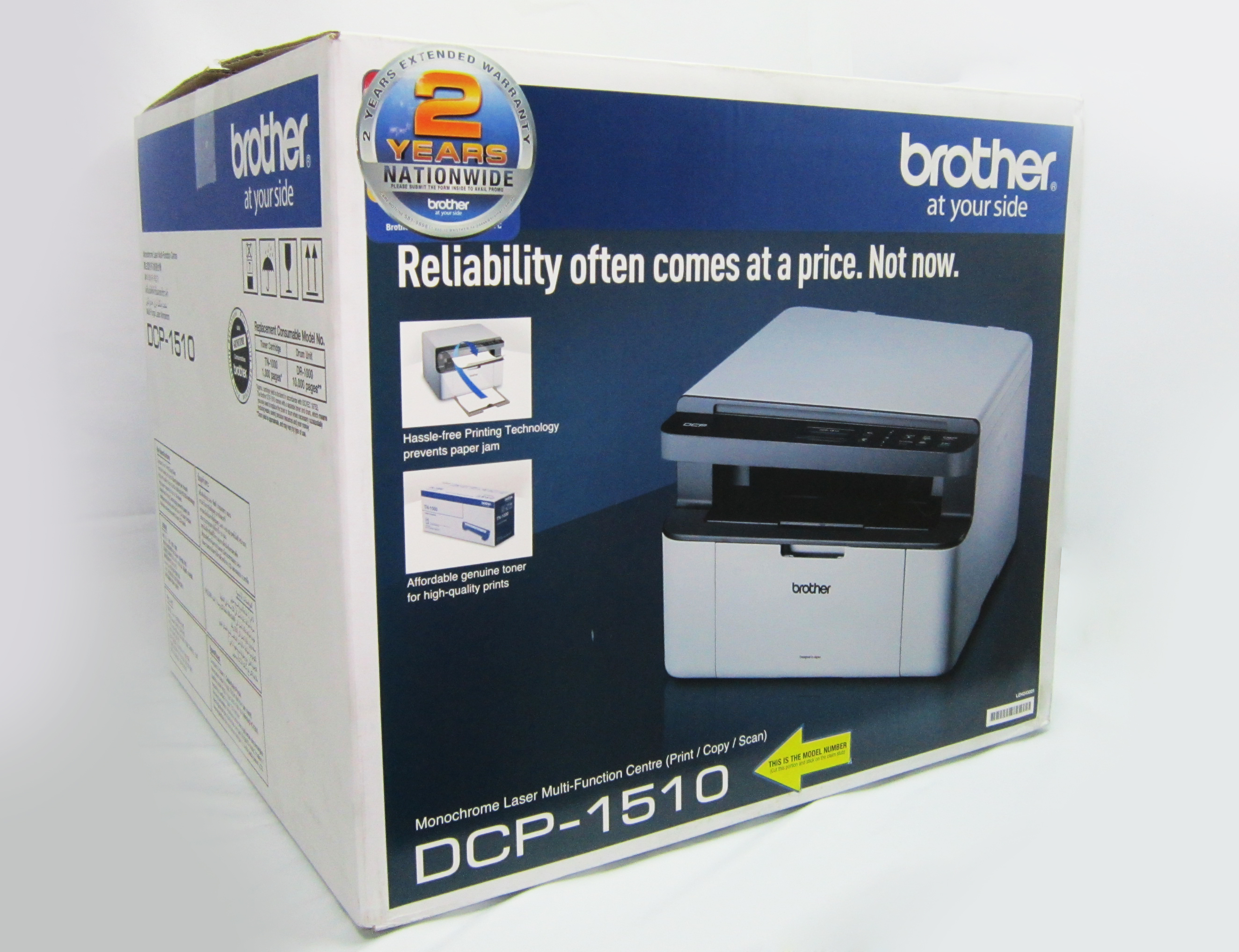 Compact Plus New Price Brother Dcp 1510 3 In 1 Laser Printer