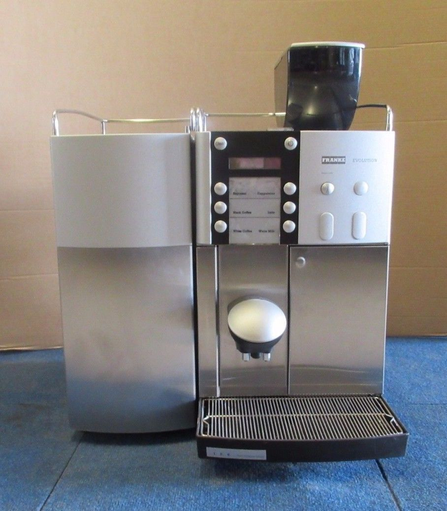 Franke Coffee Systems Franke Evolution Basic Bean To Cup Coffee Machine Franke Milk