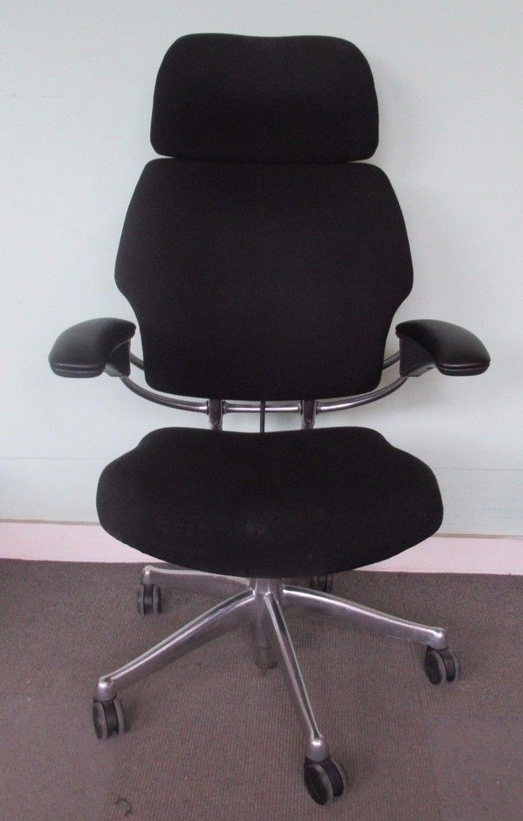 Freedom Furniture Head Office Humanscale Freedom Hi Back Office Chair With Black Headrest With
