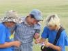 Ботаники за работой. Восточная Монголия, лето 2012. Фото Л. Сараевой