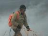 Степной пожар в Даурском заповеднике и окрестностях. Начало мая 2013 г.