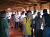 Участники стажировки в наблюдательной галерее Одюбоновского центра им. Иэна Николсона в заказнике Роу