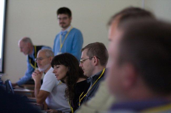 На совещании по изучению и сохранению манула в степях Северной Евразии, 13-15 сентября 2016 г., г. Новосибирск. Фото О. Кугаева