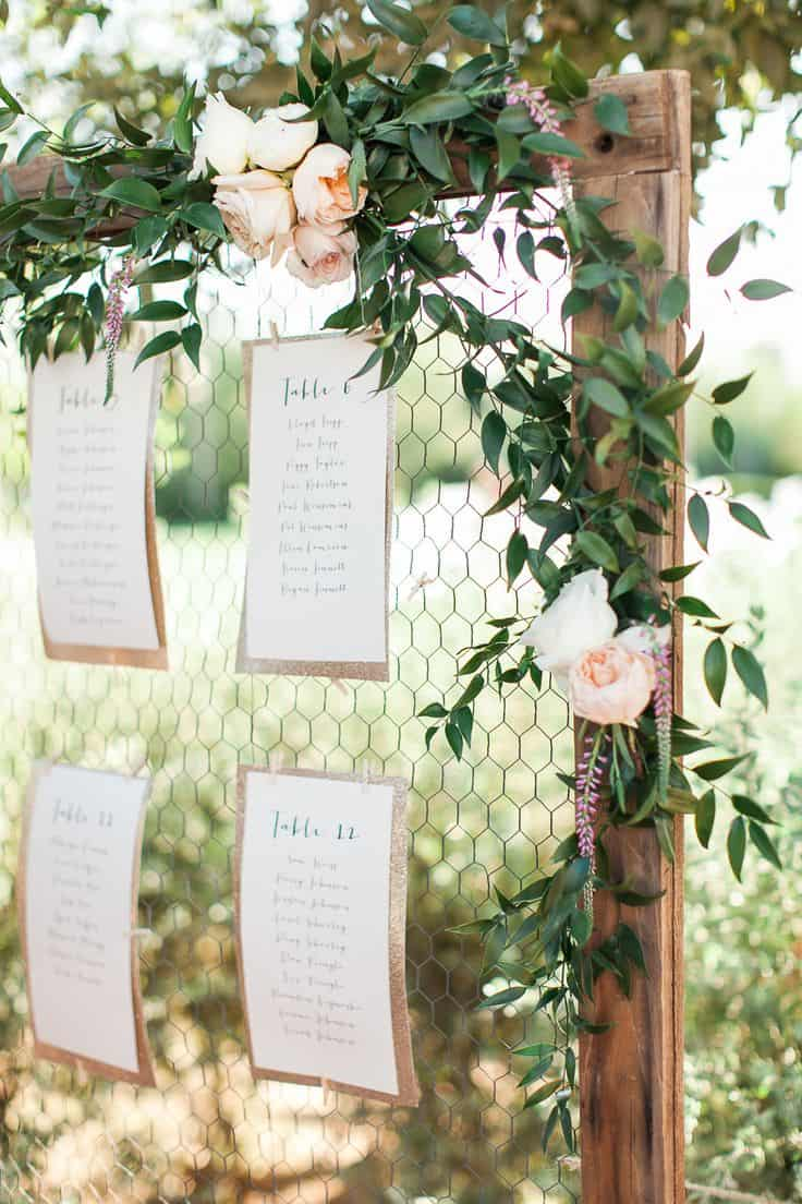 Decoration Table Mariage Mariage Une Déco Rustique Chic Save The Deco