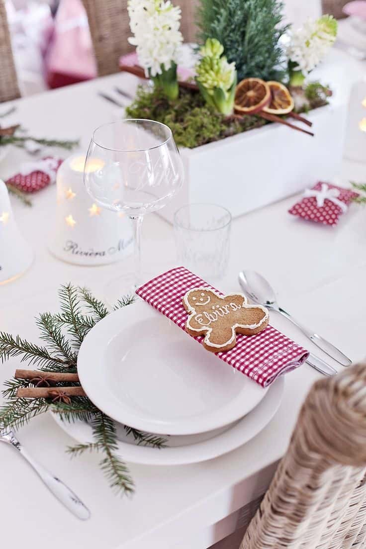 Deco Table Noel Blanc Une Déco De Table Tendance Pour Noël Save The Deco