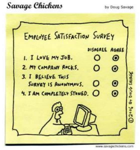 A happy worker is a productive worker Postal Pulse surveys employee