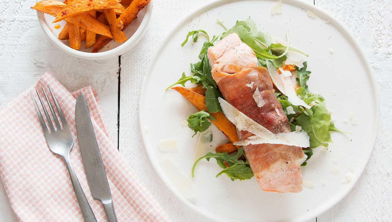 saumon rôti, saumon rôti, saumon rôti