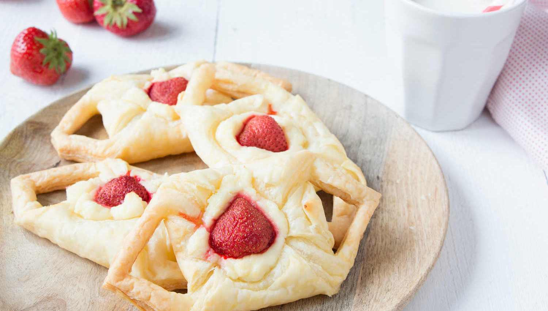 tartelettes aux fraises