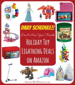 holiday toy lightning deals on amazon