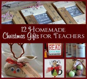 12 Homemade Christmas Gifts for Teachers