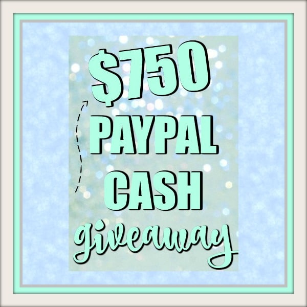 GIVEAWAY: Win $750 Cash!