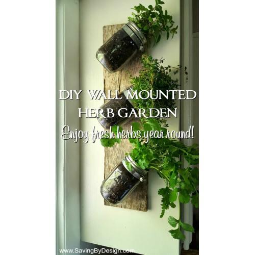 Medium Crop Of Wall Herb Garden