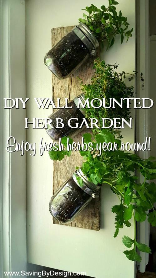 Medium Of Wall Herb Garden