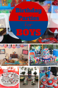 10 Birthday Party Ideas For Boys  Saving Mamasita