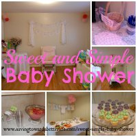 Sweet and Simple Baby Shower Ideas - Saving Toward A ...