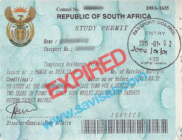 South African Dha Scaps Visa Transfer Policy Savisas Com - Study Online In South Africa