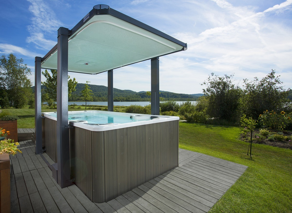 Jacuzzi Pool Covers Abris Spa De Nage Covana Savoie Piscines And Spas