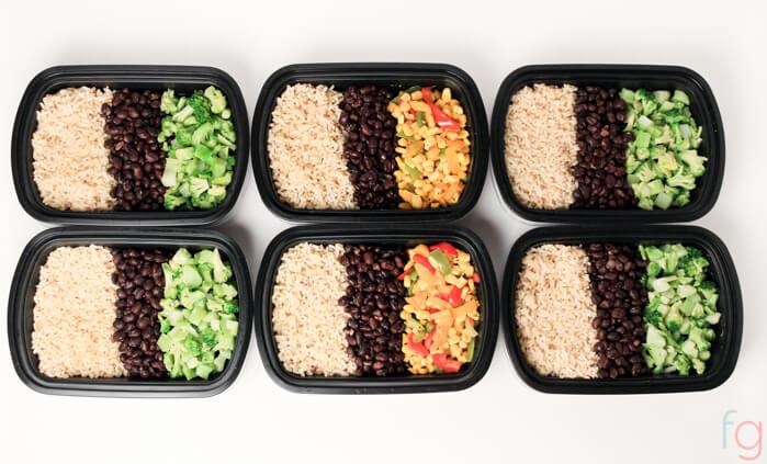 Easy Vegetarian Meal Prep 30 Minute Vegan Meal Prep