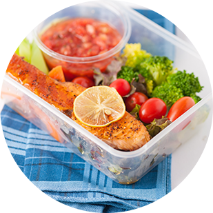 meals prepared for your nutritional needs