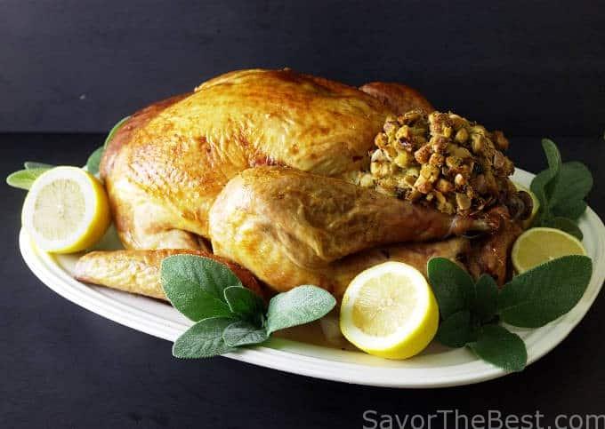 bbq gravy crisp skinned butterflied roast turkey crisp skin high roast ...