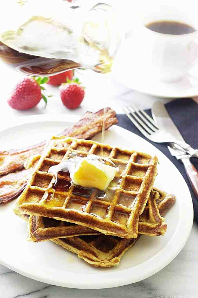 ... waffles buttermilk and brown butter waffles recipes dishmaps waffles