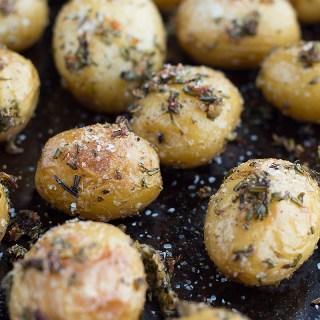 Duck Fat Roasted Garlic Herb Potatoes dsc_0295-2