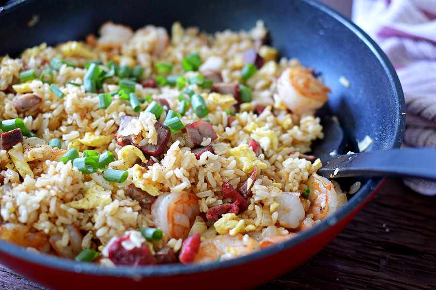 how to cook fried rice chinese style