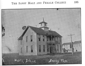 Savoy Male and Female College (1885)
