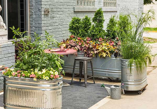 10 Upcycling Ideas For The Garden