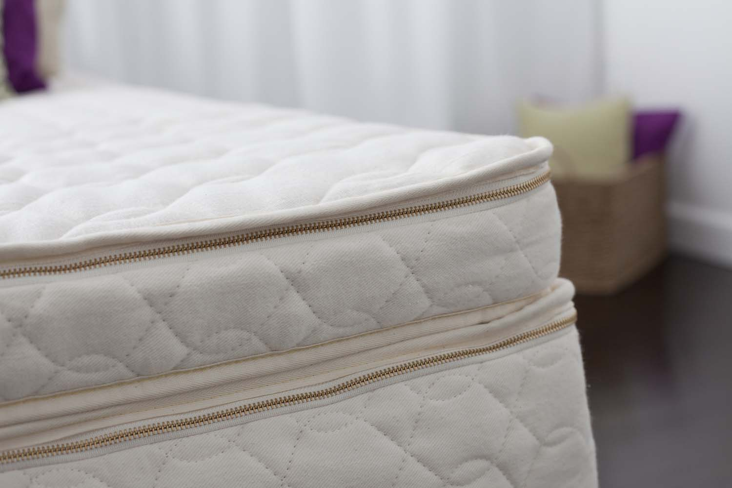 Wool Mattress Pad Reviews Natural Latex Mattress Topper Harmony Savvy Rest