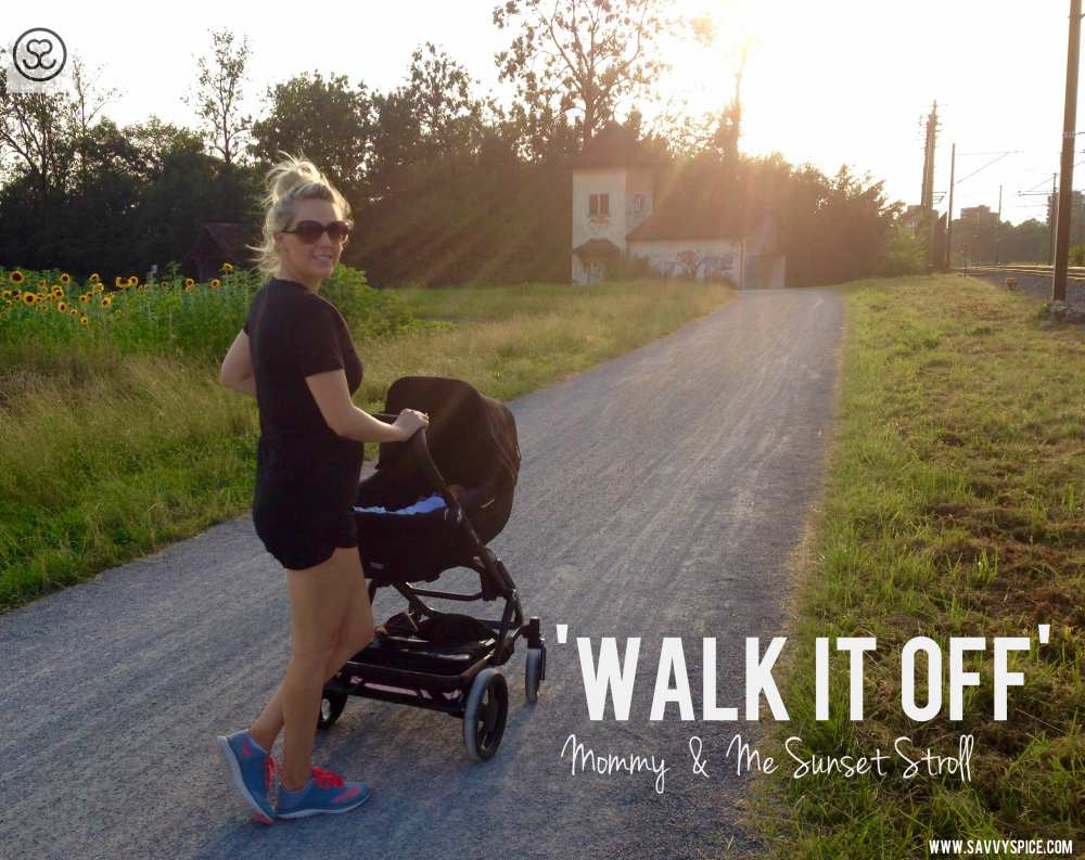 Buggy Style Stroller Walk It Off Savvy Spice