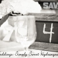 REAL WEDDINGS: SIMPLY SWEET HYDRANGEAS
