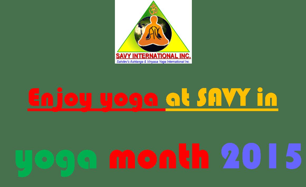 Celebrating Yoga Month - September