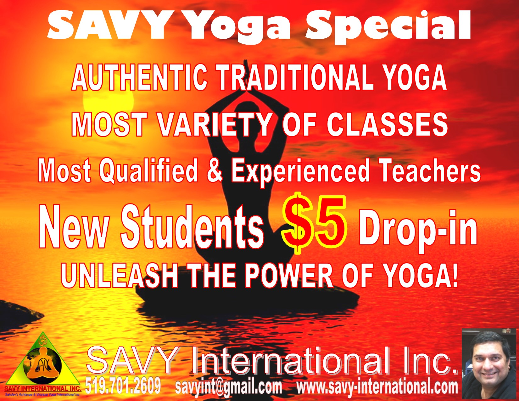 Introductory Yoga Pass - $5 Per Class