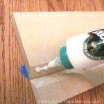 Gluing up a miter joint