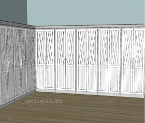 Studio cabinet door ideas