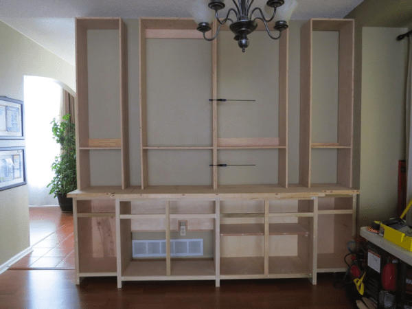 dining room buffet Built-in option 3